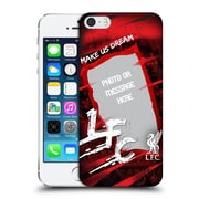 Custom Customised Personalised Liverpool Fc Make Us Dream Banner Hard Back Case For Apple Iphone 5 / 5S / Se
