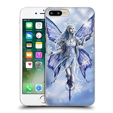 Official Anne Stokes Yule Snow Fairy Hard Back Case For Apple Iphone 7 Plus