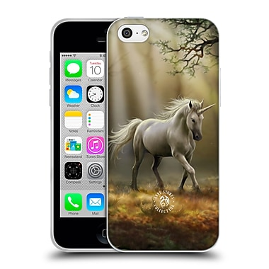 Official Anne Stokes Mythical Creatures Glimpse Of A Unicorn Soft Gel Case For Apple Iphone 5C