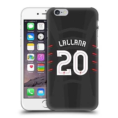 Official Liverpool Football Club Players Away Kit 16/17 Group 2 Lallana Hard Back Case For Apple Iphone 6 / 6S