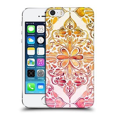 Official Micklyn Le Feuvre Mandala Sunset Art Nouveau Hard Back Case For Apple Iphone 5 / 5S / Se