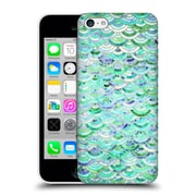 Official Micklyn Le Feuvre Marble Patterns Mosaic In Mint Quartz And Jade Hard Back Case For Apple Iphone 5C