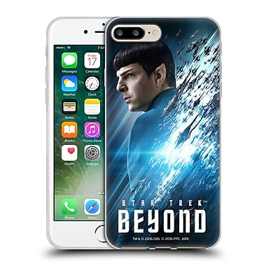 Official Star Trek Characters Beyond Xiii Spock Soft Gel Case For Apple Iphone 7 Plus