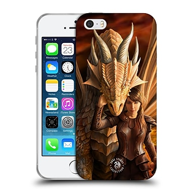 Official Anne Stokes Dragons 2 Inner Strenght Soft Gel Case For Apple Iphone 5 / 5S / Se