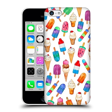 Official Micklyn Le Feuvre Summer Patterns Summer Pops And Ice Cream Dreams Hard Back Case For Apple Iphone 5C