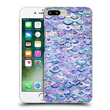 Official Micklyn Le Feuvre Marble Patterns Mosaic In Amethyst And Lapis Lazuli Hard Back Case For Apple Iphone 7 Plus
