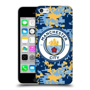 Official Manchester City Man City Fc Digital Camouflage Brick Club Hard Back Case For Apple Iphone 5C