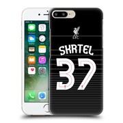 Official Liverpool Football Club Shirt Away Shirt Black Skrtel Hard Back Case For Apple Iphone 7 Plus