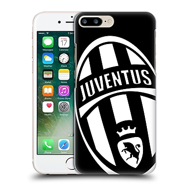 Official Juventus Football Club Crest Mono Logo Hard Back Case For Apple Iphone 7 Plus