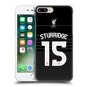 Official Liverpool Football Club Shirt Away Shirt Black Sturridge Hard Back Case For Apple Iphone 7 Plus