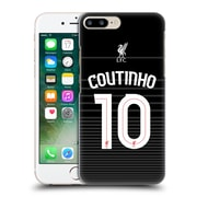 Official Liverpool Football Club Shirt Away Shirt Black Coutinho Hard Back Case For Apple Iphone 7 Plus