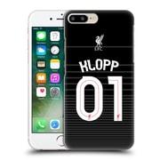 Official Liverpool Football Club Shirt Away Shirt Black Klopp Hard Back Case For Apple Iphone 7 Plus