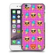 Official Emoji Happy Summer Pattern Hard Back Case For Apple Iphone 6 / 6S