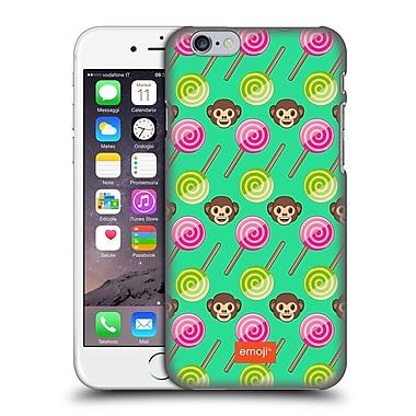 Official Emoji Happy Summer Monkeys Hard Back Case For Apple Iphone 6 / 6S
