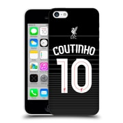 Official Liverpool Football Club Shirt Away Shirt Black Coutinho Hard Back Case For Apple Iphone 5C