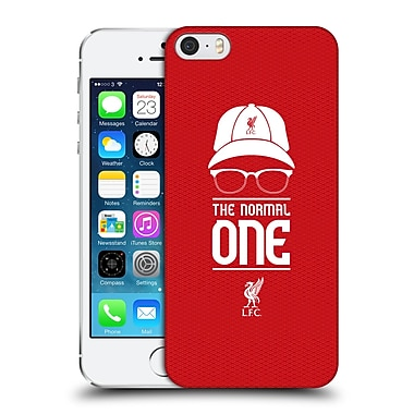 Official Liverpool Football Club Klopp Icons Icon Red Mesh Hard Back Case For Apple Iphone 5 / 5S / Se