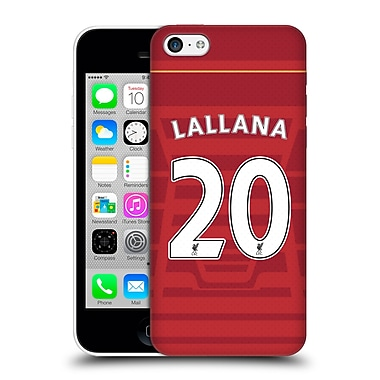Official Liverpool Football Club Players Home Kit 16/17 Group 2 Lallana Hard Back Case For Apple Iphone 5C