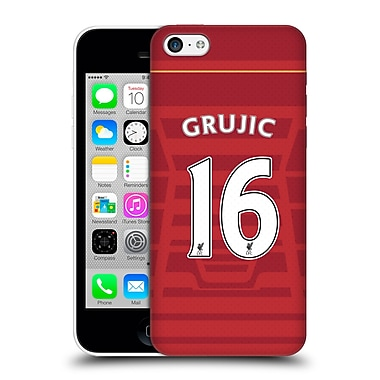 Official Liverpool Football Club Players Home Kit 16/17 Group 2 Grujic Hard Back Case For Apple Iphone 5C
