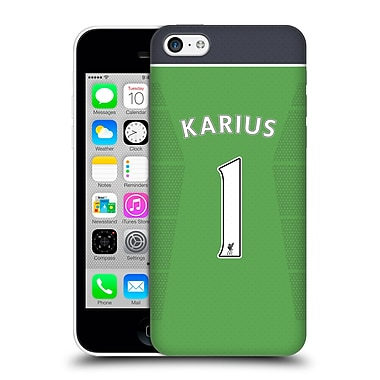 Official Liverpool Football Club Players Home Kit 16/17 Group 2 Karius Hard Back Case For Apple Iphone 5C