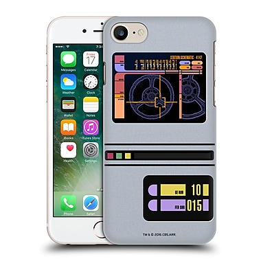 Official Star Trek Gadgets Tng Padd Hard Back Case For Apple Iphone 7