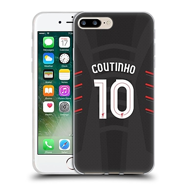 Official Liverpool Football Club Players Away Kit 16/17 Group 1 Coutinho Soft Gel Case For Apple Iphone 7 Plus