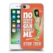 Official Star Trek Iconic Characters Tos Orion Female Soft Gel Case For Apple Iphone 7