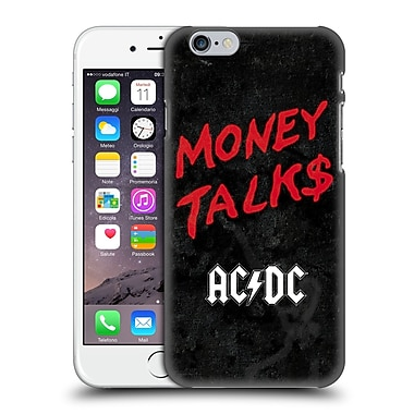 Official Ac/Dc Acdc Song Titles Money Talks Hard Back Case For Apple Iphone 6 / 6S