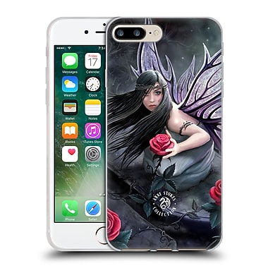 Official Anne Stokes Dark Hearts Rose Fairy Soft Gel Case For Apple Iphone 7 Plus