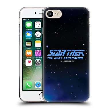 Official Star Trek Key Art The Next Generation Soft Gel Case For Apple Iphone 7