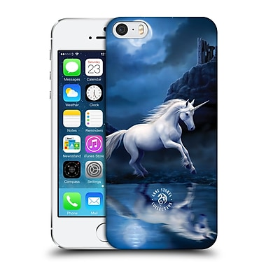 Official Anne Stokes Mythical Creatures Moonlight Unicorn Hard Back Case For Apple Iphone 5 / 5S / Se