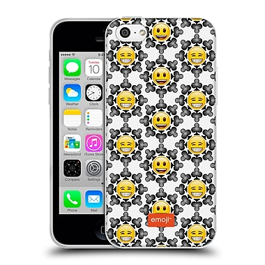 Official Emoji Assorted Prints Smiley Faces Soft Gel Case For Apple Iphone 5C