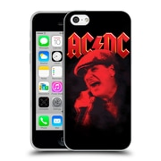 Official Ac/Dc Acdc Solo Brian Johnson Red Soft Gel Case For Apple Iphone 5C