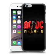 Official Ac/Dc Acdc Song Titles Plug Me In Hard Back Case For Apple Iphone 6 / 6S