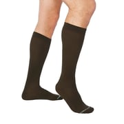 Tommie Copper Men's Core Compression MicroModal® Over The Calf Socks, Brown, 12-14.5 (1733MR)