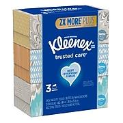 Kleenex Standard Facial Tissue, 2-Ply, 144 Sheets/Box, 3 Boxes/Pack (37392)