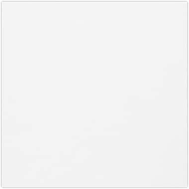 LUX 6 3/4 x 6 3/4 Square Flat Card 50/Pack, Bright White (634SQFLT-W-50)