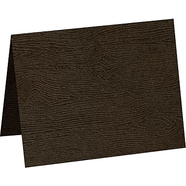 LUX A9 Folded Card, Teak Woodgrain (5060-C-S03-250)