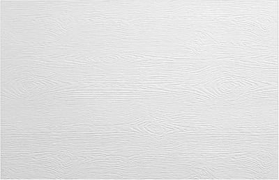 LUX A9 Flat Card 50/Pack, White Birch Woodgrain (4060-C-S02-50)