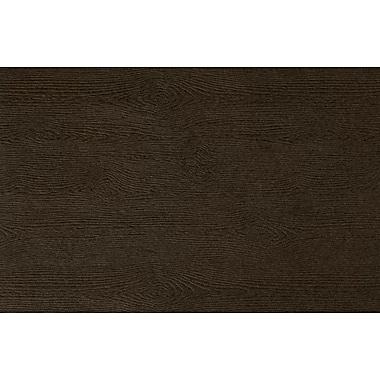 LUX A9 Flat Card, Teak Woodgrain (4060-C-S03-500)