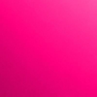 LUX 7 3/4 x 7 3/4 Square Flat Card 50/Pack, Hottie Pink (734SQFLTFA0450)
