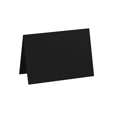LUX A6 Folded Card (4 5/8 x 6 1/4) 1000/Pack, Midnight Black (EX5030-56-1000)