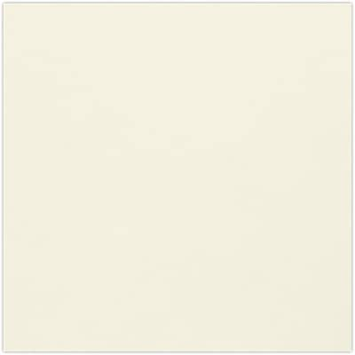 LUX 4 3/4 x 4 3/4 Square Flat Card 250/Pack, Natural (434SQFLT-N-250)