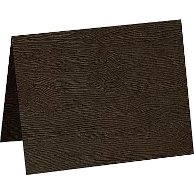 LUX A2 Folded Card, Teak Woodgrain (5020-C-S03-500)