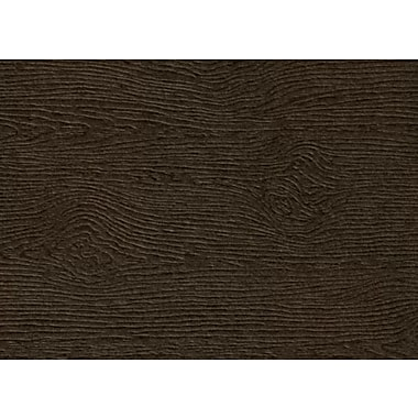 LUX #17 Mini Flat Card 250/Pack, Teak Woodgrain (4080-C-S03-250)