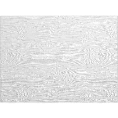 LUX A6 Flat Card, White Birch Woodgrain (4030-C-S02-500)