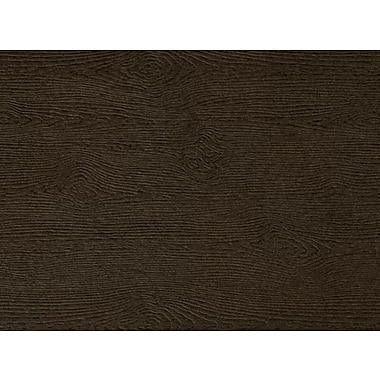 LUX A6 Flat Card 250/Pack, Teak Woodgrain (4030-C-S03-250)