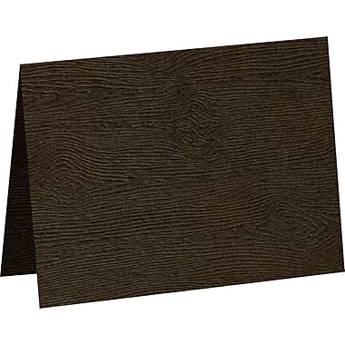 LUX #17 Mini Folded Card, Teak Woodgrain (5080-C-S03-1000)