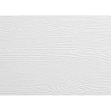 LUX #17 Mini Flat Card, White Birch Woodgrain (4080-C-S02-1000)