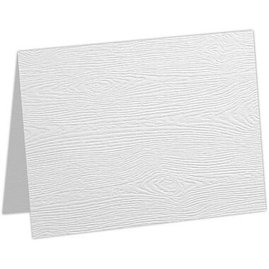 LUX #17 Mini Folded Card, White Birch Woodgrain