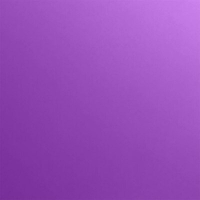 LUX 4 3/4 x 4 3/4 Square Flat Card 250/Pack, Purple Power (434SQFLTFA06250)